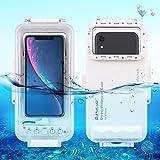 PULUZ Wasserdichtes Tauchgehäuse für Foto und Video unter Wasser (IP68) Unterwassergehäuse für...