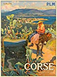 Unbekannt Poster, Korsika Vizzanova, Reproduktion, 50 x 70