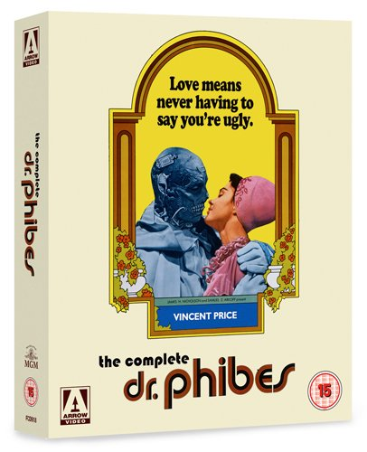 The Complete Dr Phibes [Blu-ray] [UK Import]