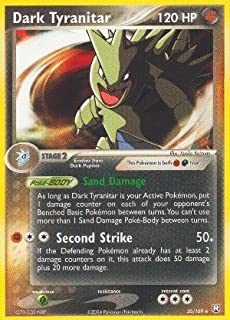 Pokemon - Dark Tyranitar (20) - EX Team Rocket Returns - Reverse Holofoil