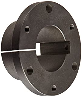 """TB Woods Type SF SF21458KS Sure-Grip Bushing, Cast Iron, Inch, 2.25"""" Bore, 3.125"""" OD, 2"""" Length, 11000 lbs/in Torque, Standard Design, Special Keyway (B004LB65V2) 