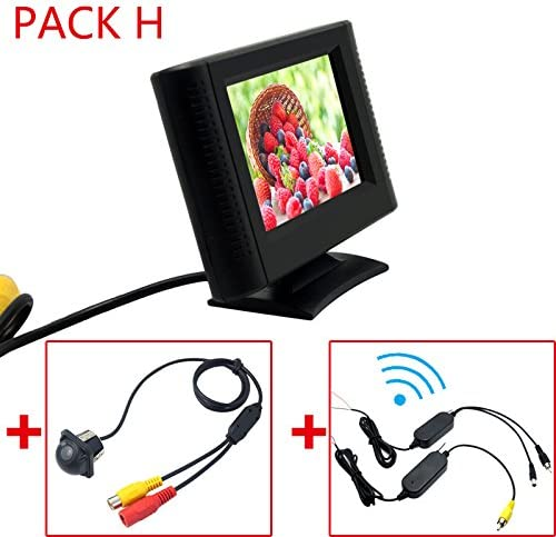 FEELDO 2.5 Inch 5 popular Denver Mall LCD TFT Monitor Rear Parking RC Camera View with