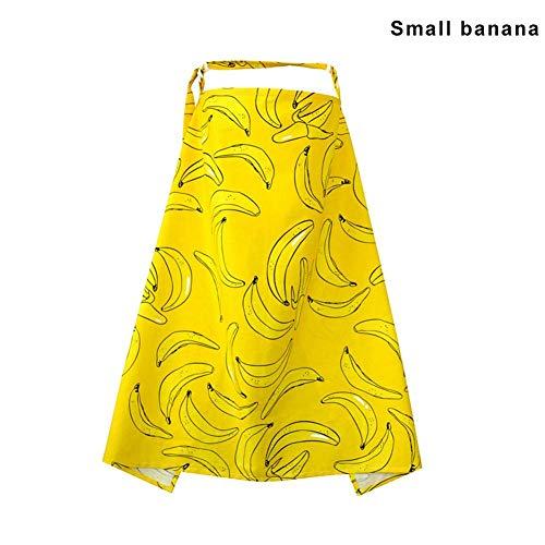 Ablita Tout-Petit Bébé Allaitement Serviette Allaitement Couverture Couverture Couverture Intérieur Extérieur - Petit Banane