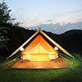 YAGUANGSHI Yurta Carpa Exterior toldo extraíble Confort Hotel Rancho Camping Gran Carpa.