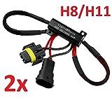 L&P Car Design GmbH L&P B546 2 Pieza H8/H11 CanBUS Plug&Play Resistencia eléctrica para LED/SMD. No Mensaje de Error.