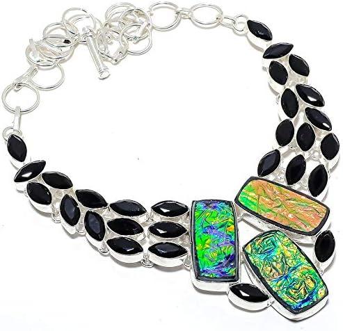 Max 74% OFF YUVI Mail order Australian Triplet Fire Opal Silver 925 Sterling Necklace
