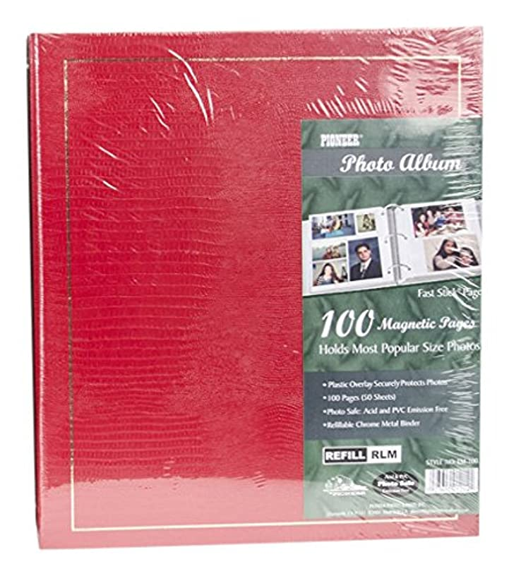 Pioneer LM100 Binder Magnetic 3-ring Photo Album 100-page , Pack of 1