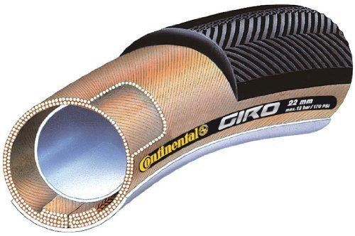 Continental Tubular tyre Conti Giro 28 (Size: 28 x 22 mm Black) 28 Road Bike Tyre by