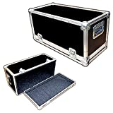 Head Amplifier 1/4 Ply Light Duty ATA Case with All Recessed Hardware Fits Genz Benz Black Pearl 30