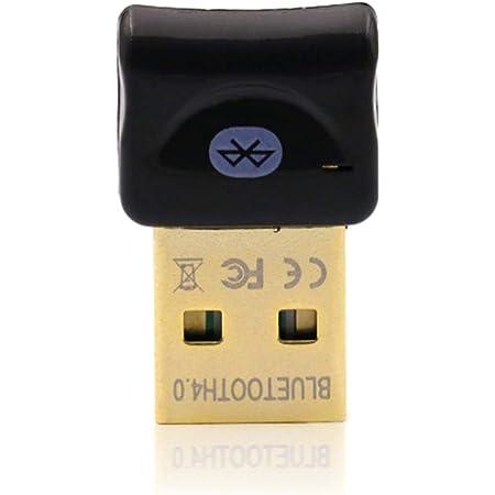 REDGO Mini Adaptador USB Bluetooth 4.0 para PC, Dongle Bluetooth Transmisor y Receptor de Inalámbricos Ratones, Teclado, Casco, Ordenador Compatible ...