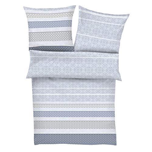 Zeitgeist 5881 - Juego de cama (funda nórdica de 140 x 200 cm y funda de almohada de 70 x 90 cm, cierre de cremallera)