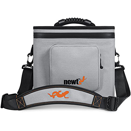 Newt Fully Waterproof Padded Camera Shoulder Bag with Leak-Proof Zipper, High-Frequency Welded Seams and Removable Padded Inserts. Holds a Single DSLR or Mirrorless Digital Camera