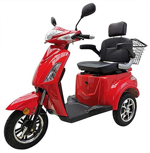 Elektromobil VITA CARE 1000 Seniorenmobil E-Scooter E-Roller, Rot