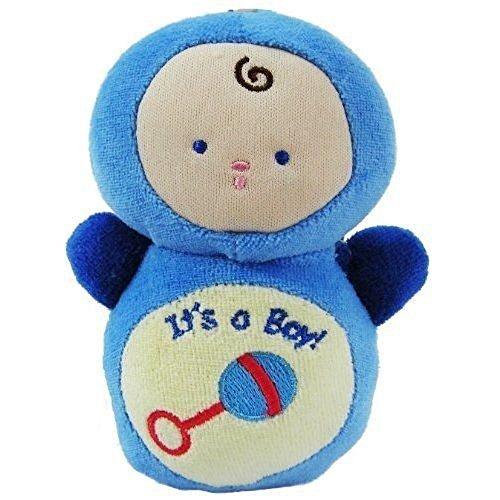 Nouveau bébé poupée Hochet Cadeau Bleu – It's a Boy