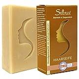Skineco Haarseife | nachhaltige Ziegenmilchseife mit Bierhefe | handgemachte Naturkosmetik | festes...