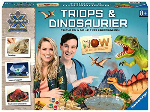 Ravensburger 18906 ScienceX Wow Triops und Dinosaurier