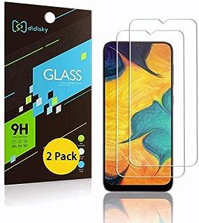 Didisky Pellicola Protettiva in Vetro Temperato per Samsung Galaxy A50 / M31 / M21 / A30S / A30 / A50S, [2 Pezzi] Protezio...