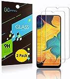 Didisky - Protector de pantalla de cristal templado para Samsung Galaxy A50, [2 unidades], protección de pantalla [tacto suave], fácil de limpiar, fácil de instalar, transparente