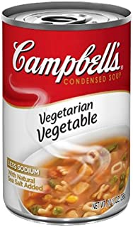 Campbell's Vegetarian Vegetable Soup, 10.5-Ounce (Pack of 12)