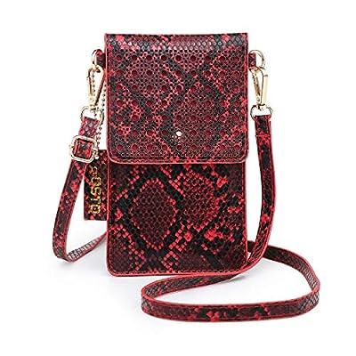 seOSTO Small Crossbody Bag Cell Phone Purse Wallet with 2 Shoulder Strap Handbag for Women Girls