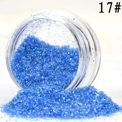 New product!! Gabcus Free shipping 20 Pot Nail Art Powder Bling Shi Glitter Dust