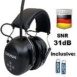 EARMUFF SNR 31db FM Radio Kapselgehörschutz Kopfhörer Gehörschützer