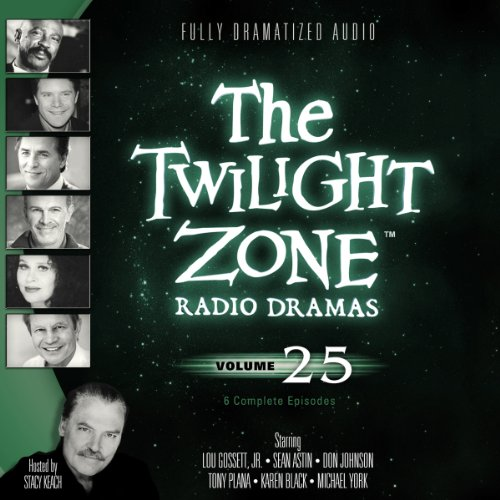 The Twilight Zone Radio Dramas, Volume 25 audiobook cover art