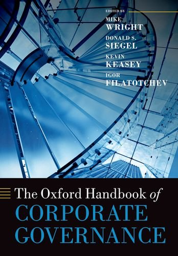 Download The Oxford Handbook of Corporate Governance (Oxford Handbooks) 0198708815