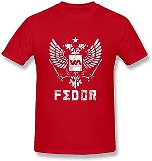 Man Fedor Emelianenko Fighter Tee Shirt