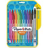 Paper Mate InkJoy Retractable Ballpoint Pens | Medium Point Pens | Writing Pens for School Supplies, Office Supplies, Assorted, 20 Pack