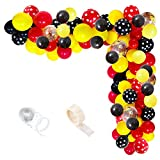 Mouse Balloons Garland Arch Kit, Red Yellow...