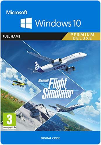 Microsoft Flight Simulator Premium Deluxe Edition   PC C