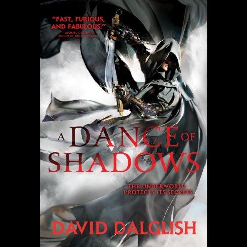 A Dance of Shadows audiobook cover art