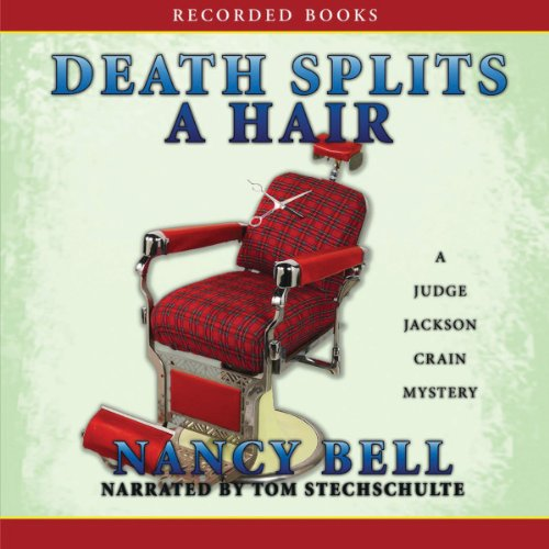 Death Splits a Hair audiobook cover art