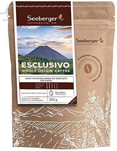Seeberger Kaffee Esclusivo, Ganze Bohne, 8er Pack (8 x 250 g)