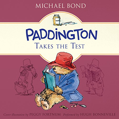 Paddington Takes the Test audiobook cover art