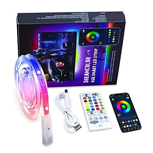 Tiras de LED, USB Bluetooth TV Tiras de LED Tiras de luz que...