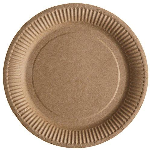 Santex 5154–26, bolsita de 10platos de mesa unidas, Kraft