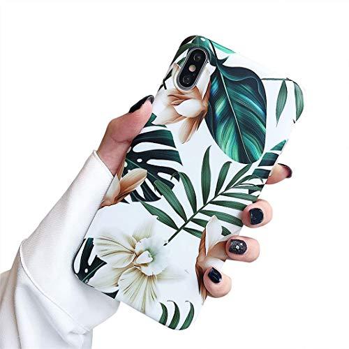 Hishiny Cover iPhone 8 Plus Caso, Custodia iPhone 7 Plus Silicone Slim Anti Scivolo Custodia Protezione Posteriore Cover Anti-graffi Antiurto TPU Ultra Sottile Cover Case per iPhone 7 Plus 8 Plus (A6)