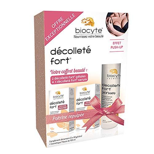 Biocyte - Coffret Beauté Décolleté Fort - Poitrine repulpée - Effet push-up - Hydratation de la peau