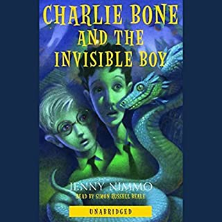 Charlie Bone and the Invisible Boy audiobook cover art