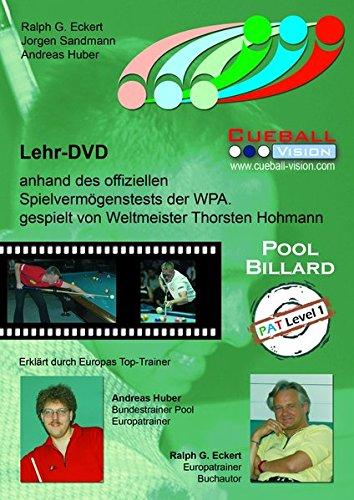Pool Billard Trainings DVD PAT 1. Mit dem offiziellen Spielvermögenstest der WPA