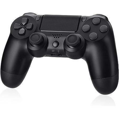 Controller Wireless PS-4, Gamepad Bluetooth per Play-Station 4 Touch Panel Game Controller con Shock a Doppia Vibrazione a Sei Assi e Jack Audio per Play-Station 4