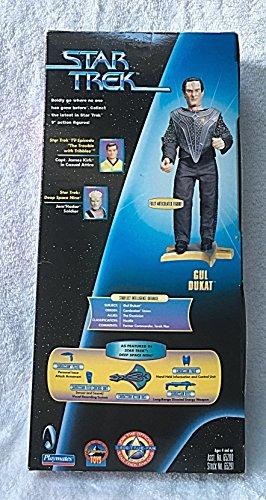 STAR TREK GUL DUKAT Deep Space Nine 9 INCH Warp Factor Series 3 Fully Ar...