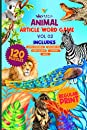 Animal Article Word Game Volume 2: Know About Sloth Moose Panda Rhino Zebra Rabbit And Other Animals | Enjoy Word Search Word Scramble Missing Vowel Mage Sudoku
