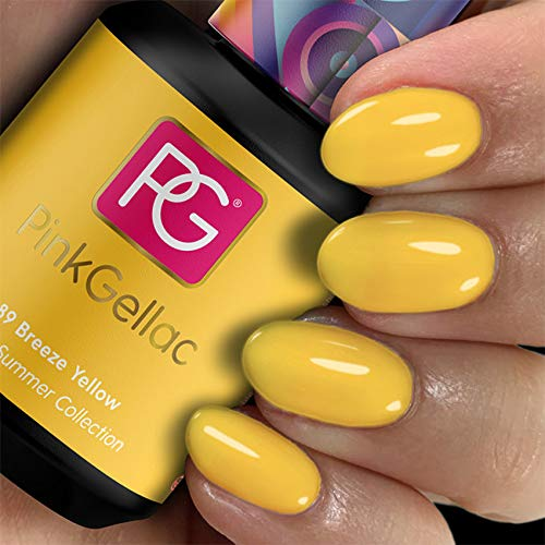 Pink Gellac Gel Nagellak Kleur 289 Breeze Yellow