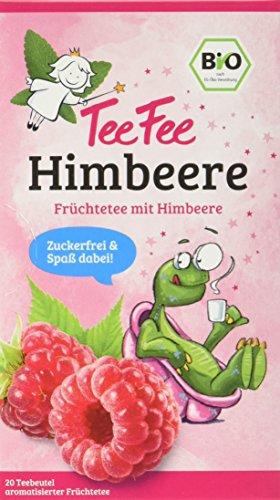 TeeFee Bio Früchtetee mit Himbeere, 5er Pack (5x20 Teebeutel) | Kindertee | natursüß und vegan | Der Bio Tee für Groß und Klein