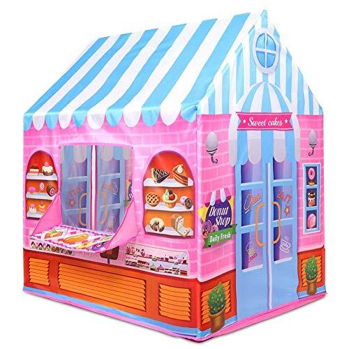 LLan Nieuwste Hoge kwaliteit Kids Tent Princess Prince Play House Kinderen Playhouse Indoor Outdoor Toy tenten for kinderen (Color : A)