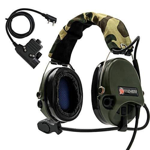 Airsoft ZTACTICAL zsordin AURICOLARE MIC BOOM RADIO PELTOR Comtac 2 MULTICAM MTP MC