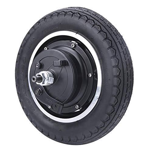 Alomejor 10-Zoll Elektroroller Rad Reifen mit Nabe Motor, 24/36 / 48V 350w DC Bürstenloses Zahnloses Schnellschiff mit Vollreifen